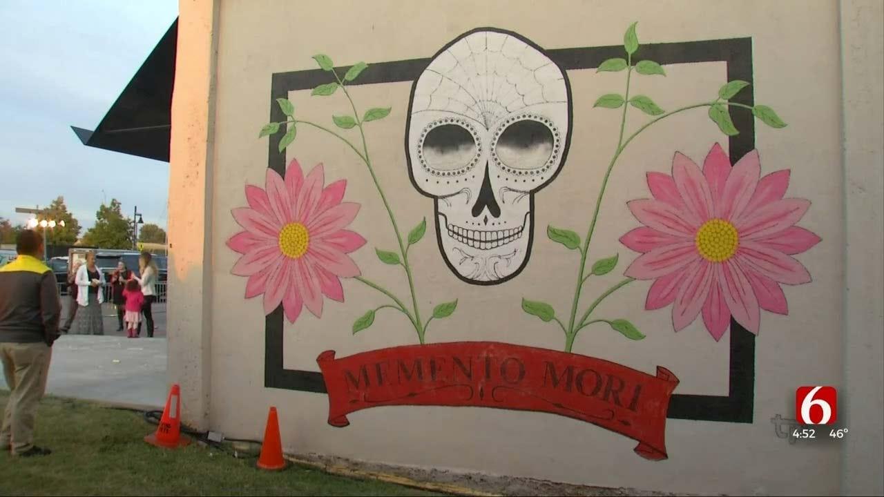 Living Arts Teams With Guthrie Green For Dia De Los Muertos Festival