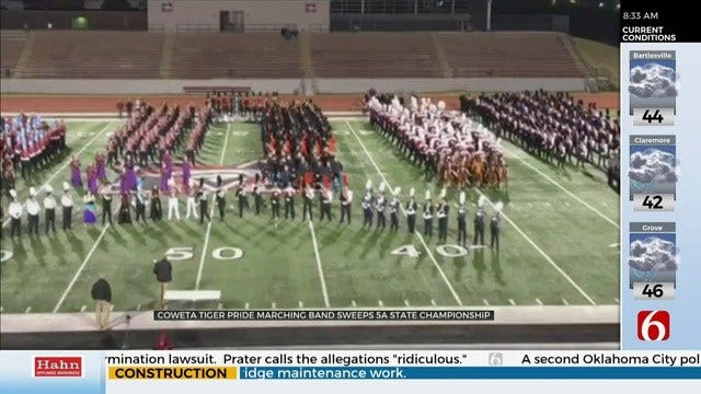 Coweta Marching Band Takes State For 10th Consecutive Year