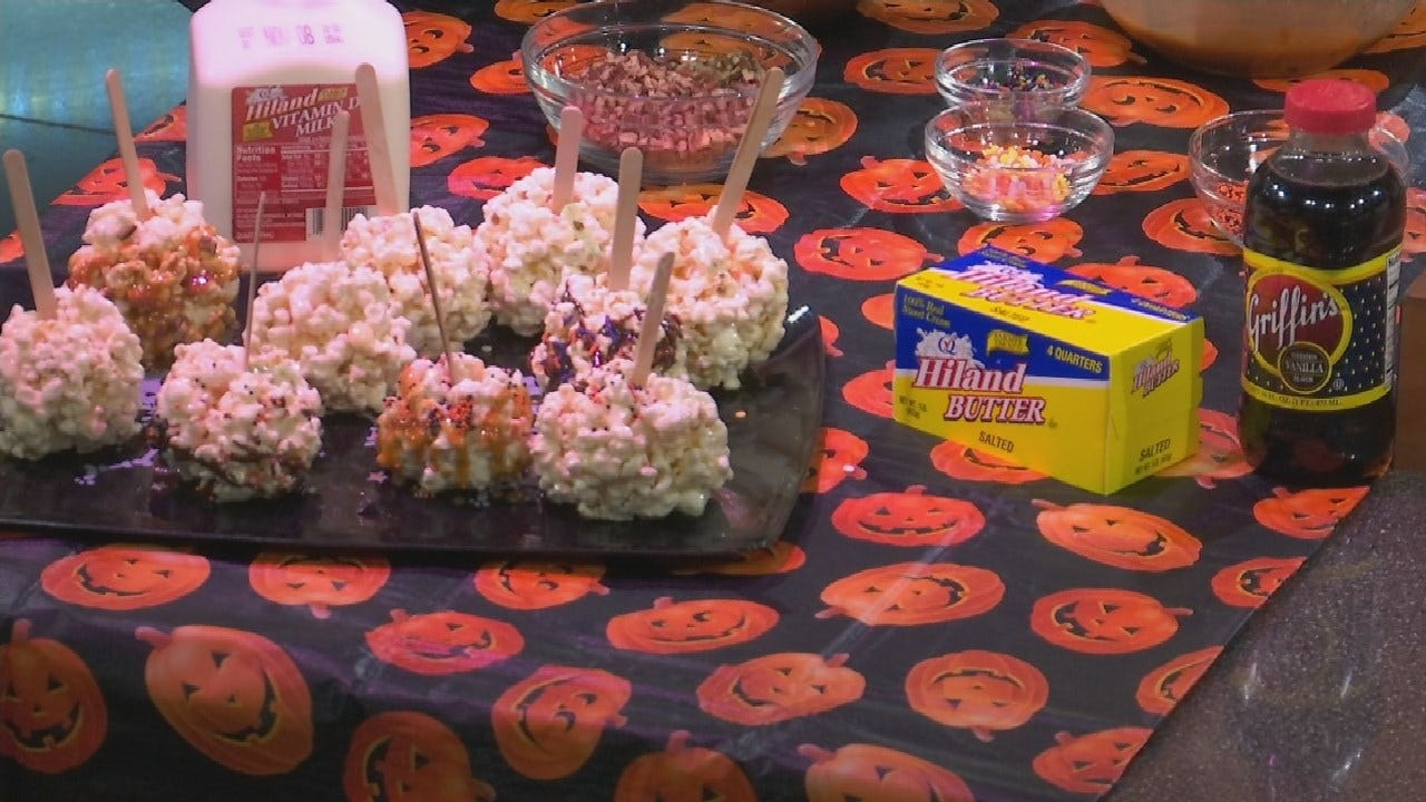 Made In Oklahoma Popcorn Balls