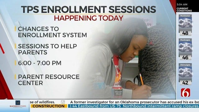Tulsa Public Schools Holds Enrollment Meetings