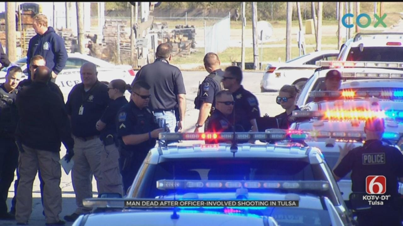 TPD: Suspect Dead Following Officer-Involved Shooting In Northern Tulsa