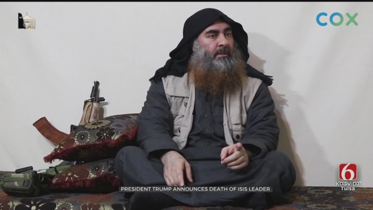 President Trump Announces ISIS Leader Killed In U.S. Raid In Syria