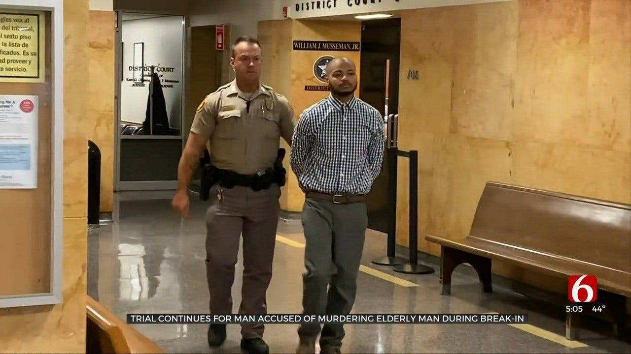 Accused Tulsa Man Blames Father For Murder