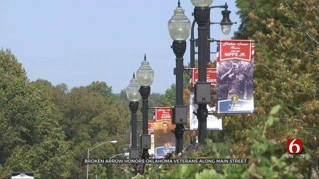 Broken Arrow Honors Veterans With Main Street Banners