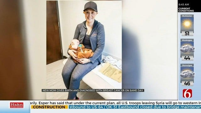 Oklahoma Mom Delivers Baby and Receives Breast Cancer Diagnosis on the Same Day