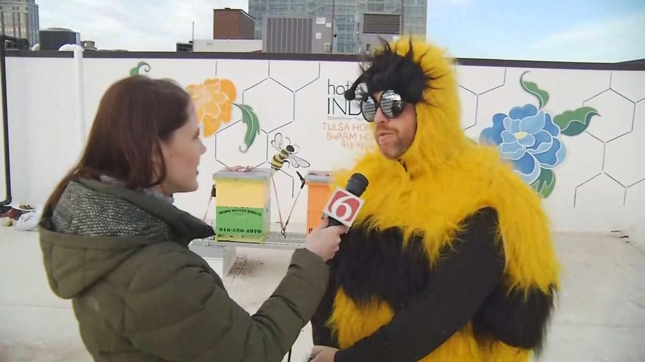 Hotel Indigo In Downtown Tulsa Celebrating Honey Harvest Week