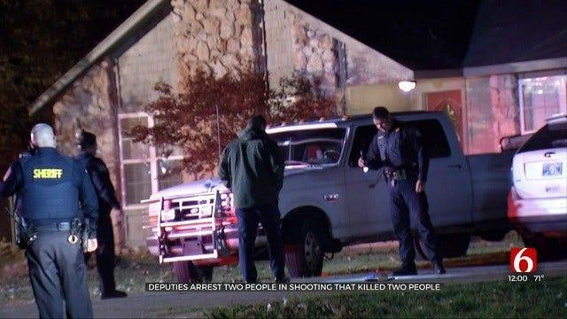 2 Dead, 2 in Custody In Rogers County Shooting