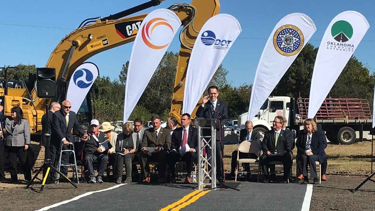 Officials Say Gilcrease Expressway Extension Will Spur Economic Growth In Tulsa