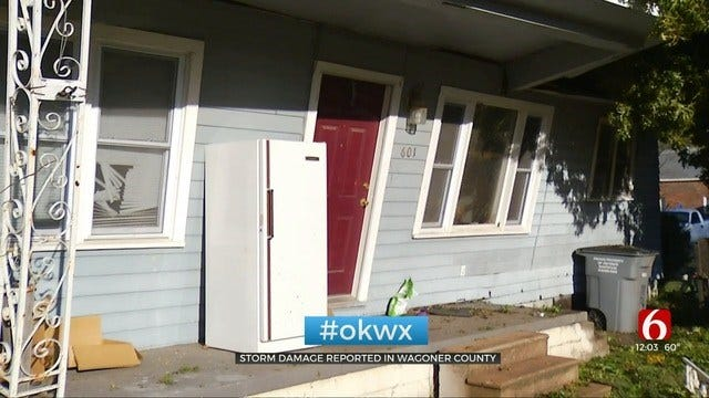 Storms Demolish Wagoner Pastor's New Home