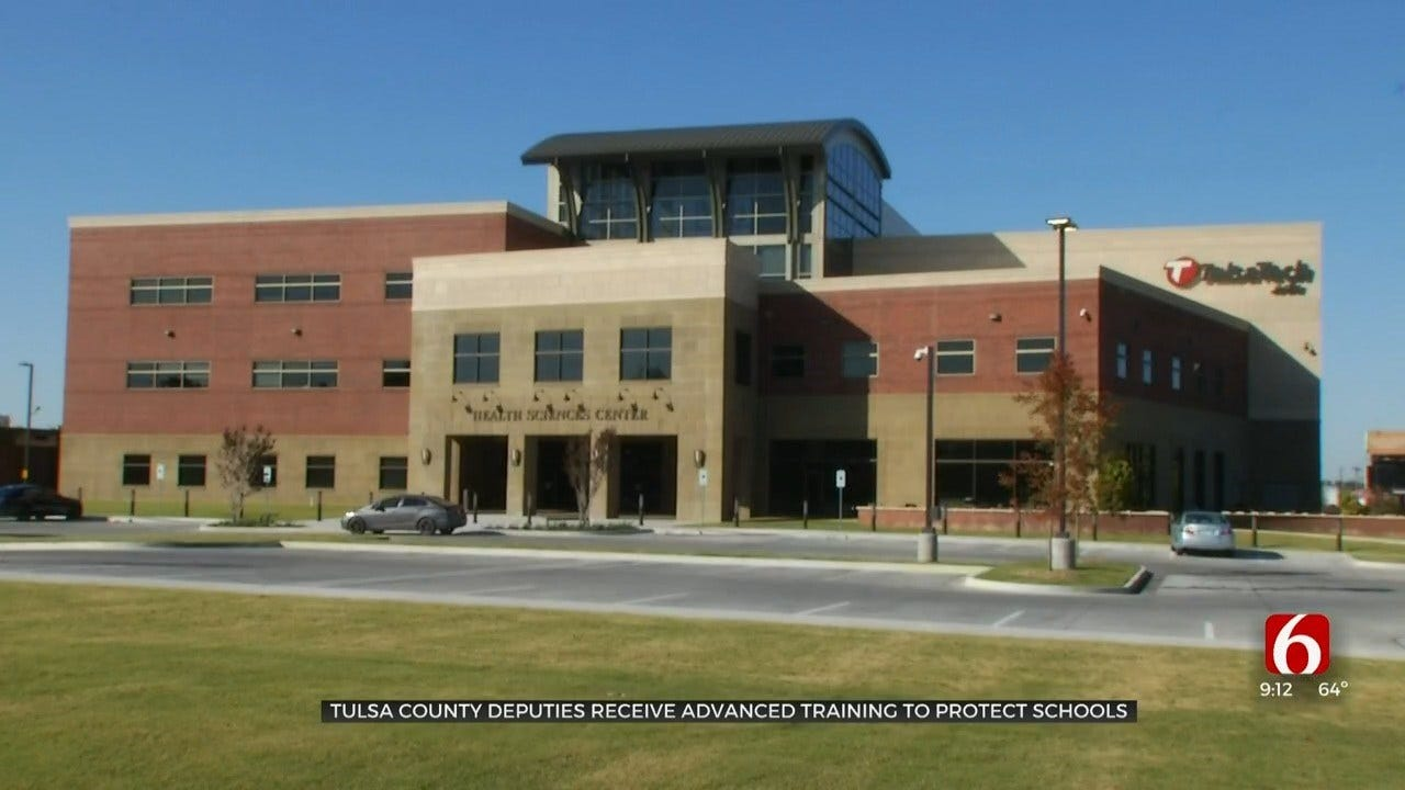 Law Enforcement Trains To Keep Oklahoma School Campuses Safer