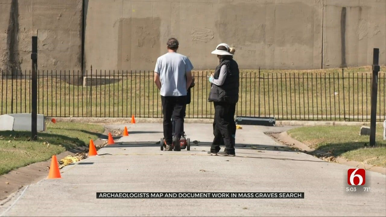 Archaeologists Finish Scanning Three Sites In Search Of 1921 Mass Graves In Tulsa