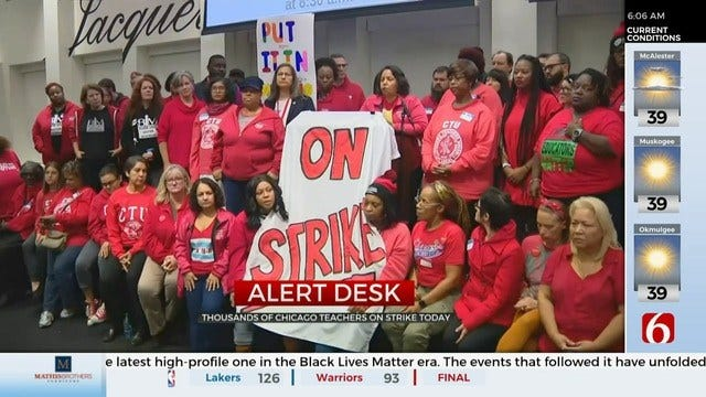 Chicago Cancels School Due To Teacher Walkout
