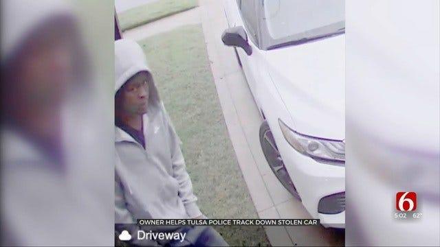 Tulsa Man Helps Police Track Down Stolen Subaru