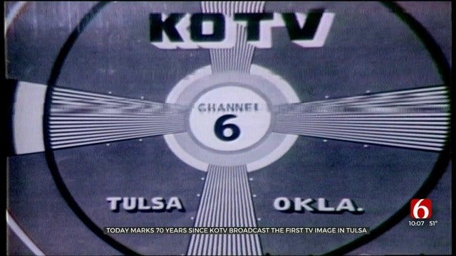 70 Years Ago Channel 6 And TV Arrived In Eastern Oklahoma