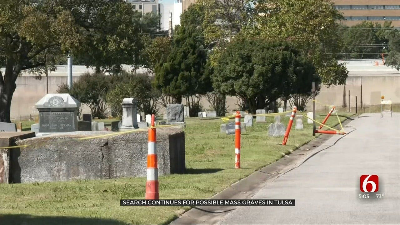 Author Visits With Archaeologists In Search For Mass Graves In Tulsa