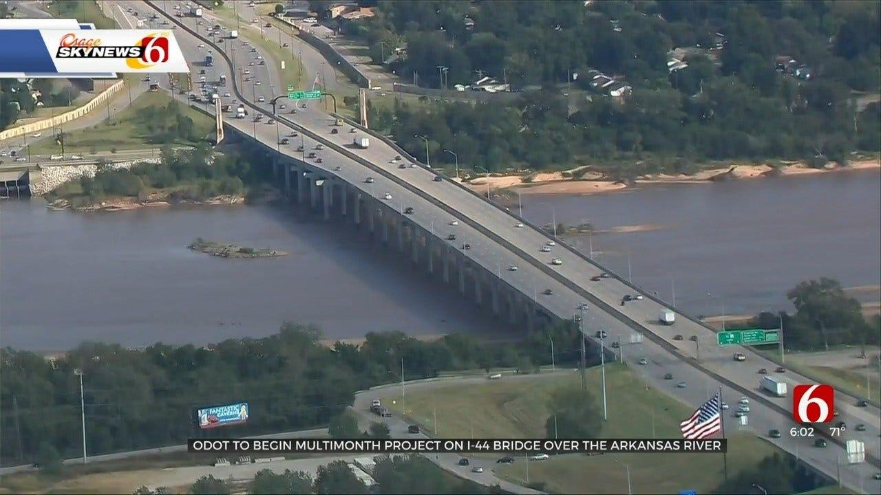 ODOT Starts I-44 Construction Project