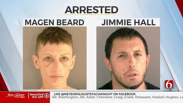 2 Arrested After Broken Arrow Officer Hit By Car