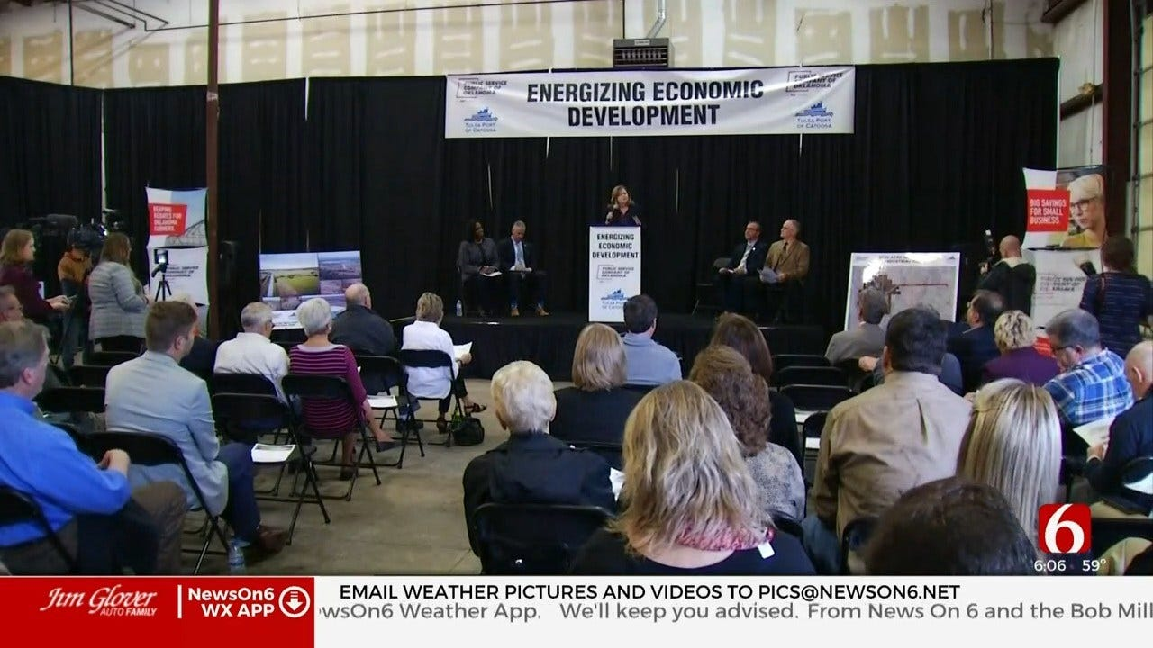 PSO Announces 1st New Public Port In Oklahoma In 50 Years