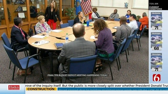 TPS Superintendent Holds Meeting To Answer Budget Deficit Questions