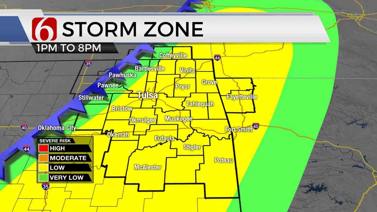 Thursday Mid-Morning Forecast With Alan Crone