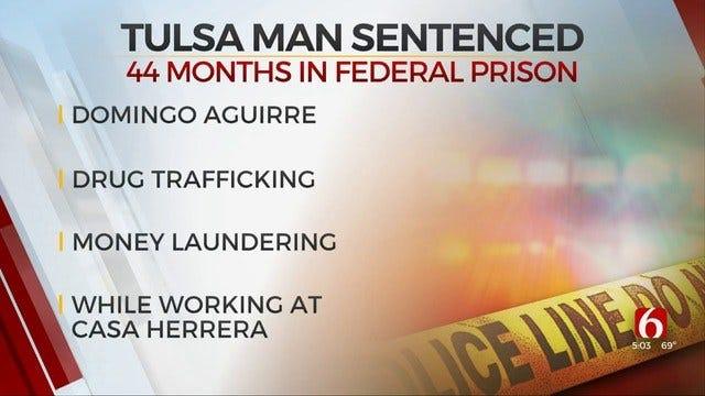 Tulsa Man Sentenced For Drug Trafficking & Money Laundering
