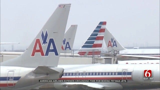 American Airlines Extending Time Off For Boeing 737 MAX Jets