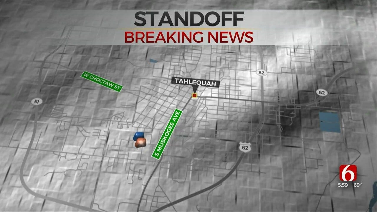 Tahlequah Police: Shots Fired In Standoff