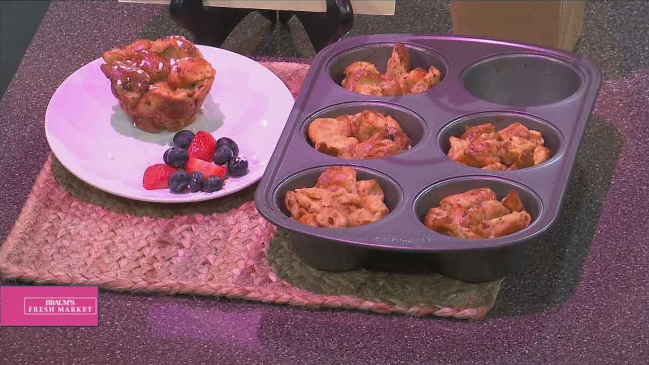 Cherry Vanilla French Toast Cups
