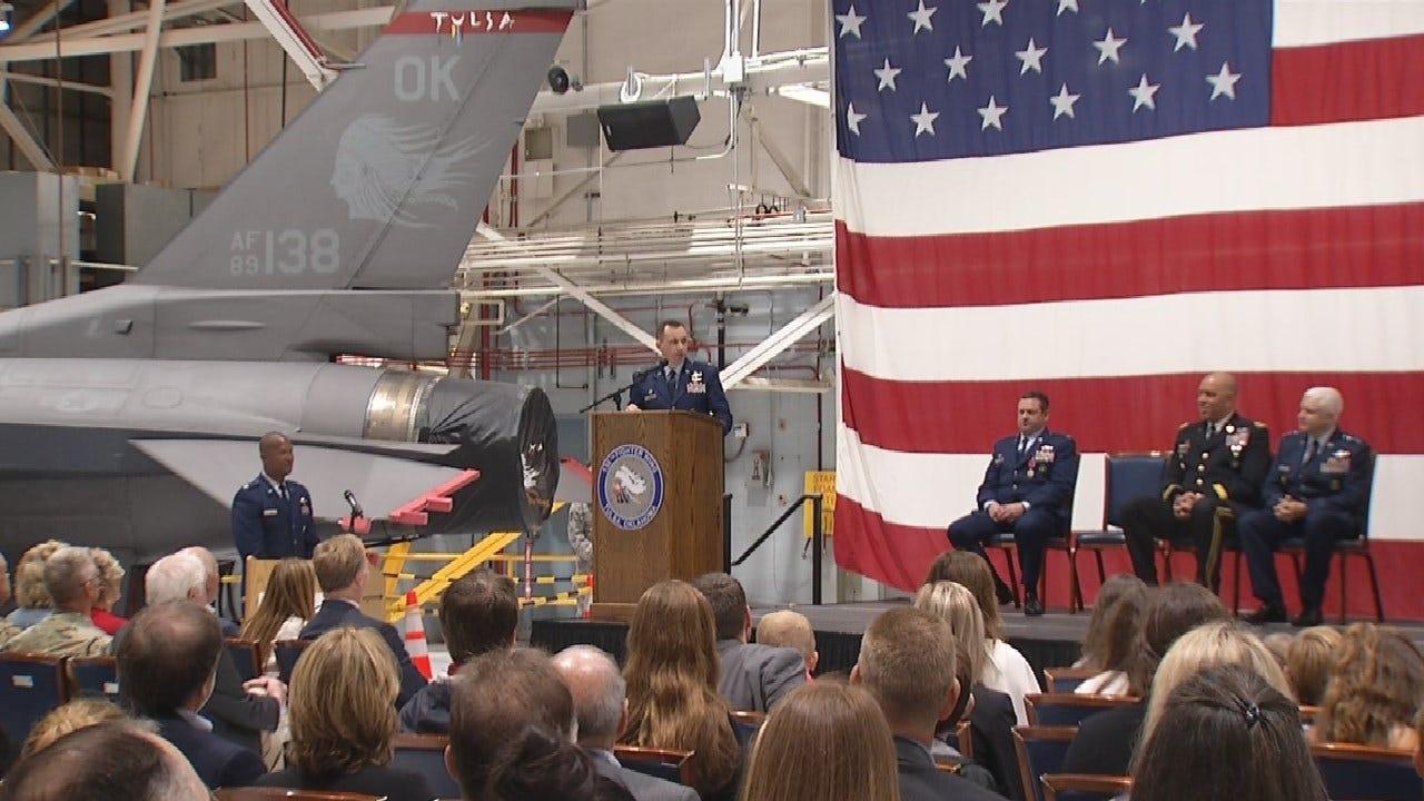 Tulsa Air National Guard Base Welcomes New Commander