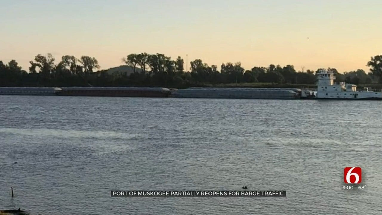 Northeastern Oklahoma Ports Back Open After May's Flooding