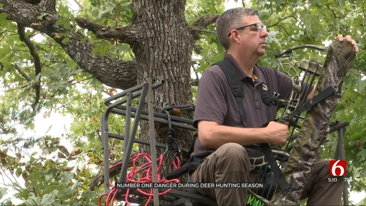 Studies Show Most Oklahoma Hunting Accidents Caused By Tree Stands