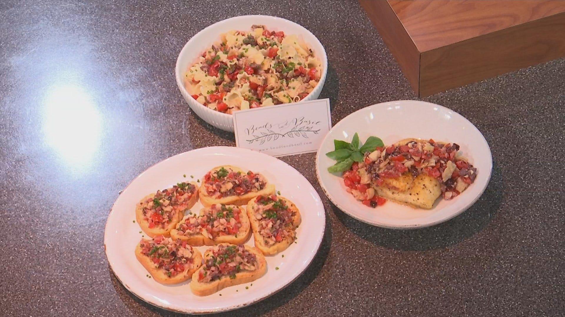 Beads And Basil Recipes: Mediterranean Sauce