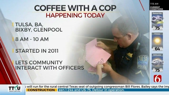 Coffee With A Cop Events Happening Wednesday