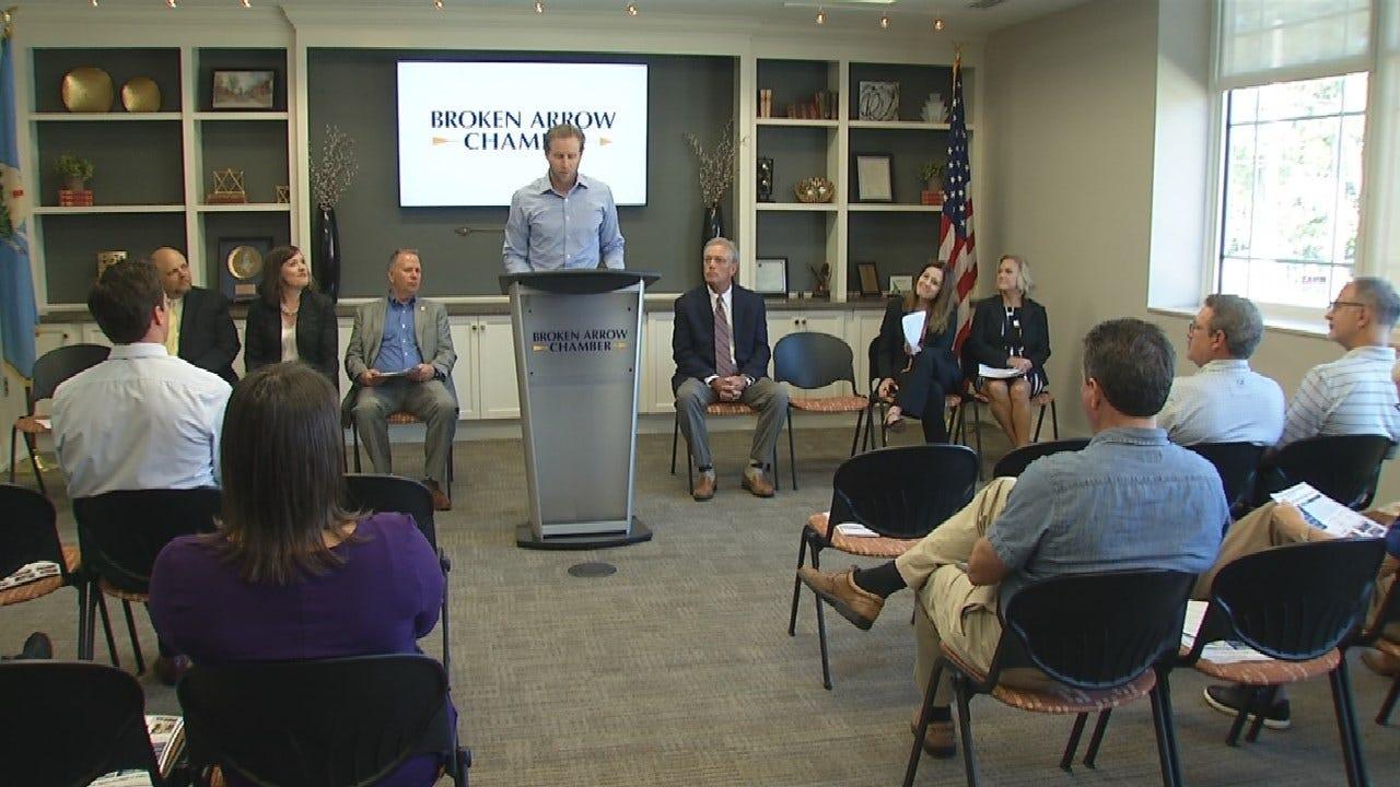 Broken Arrow City Leaders Kick Off Manufacturer's Month
