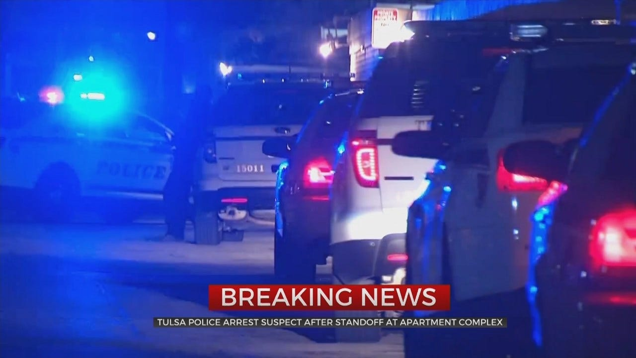 Tulsa Police: 1 Arrested After Standoff Ends
