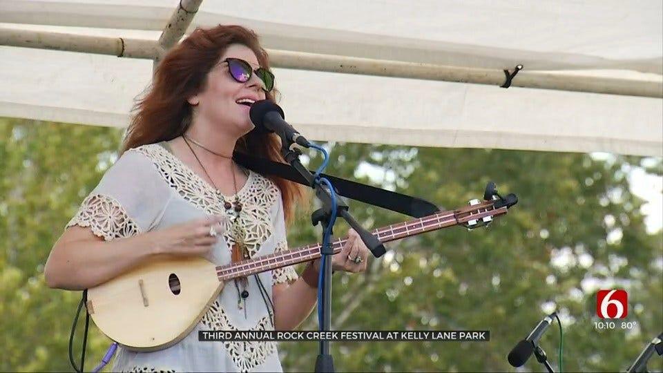 3rd Annual Rock Creek Festival Held In Sapulpa