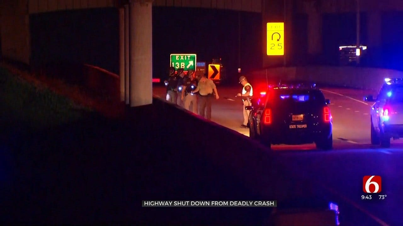 OHP Investigating Fatal Accident, Shuts Down I-244