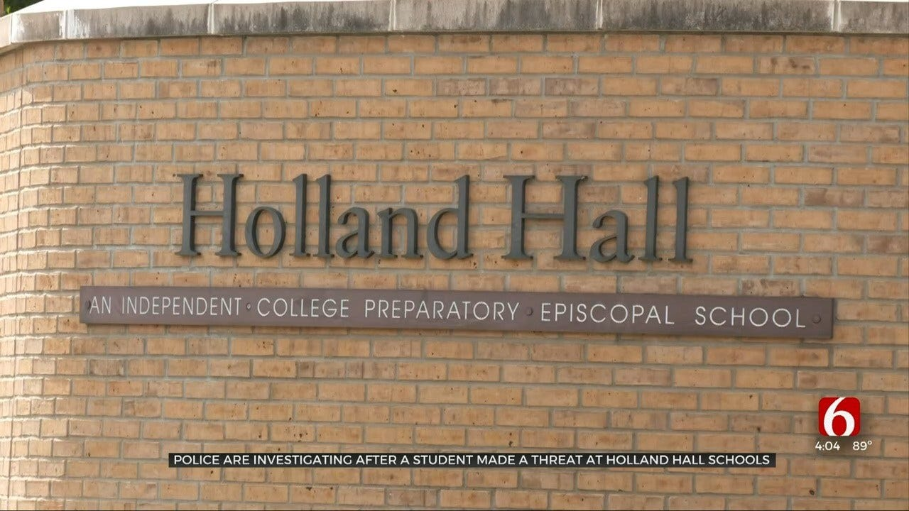 Holland Hall Student Accused Of Making Classmate 'Hit List'