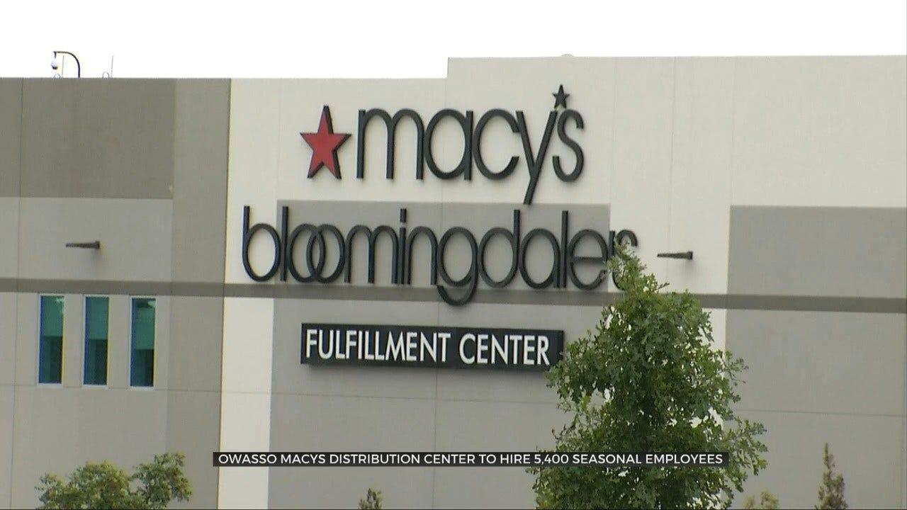 Owasso Macy's Fulfillment Center To Hire Over 5,000 Seasonal Employees