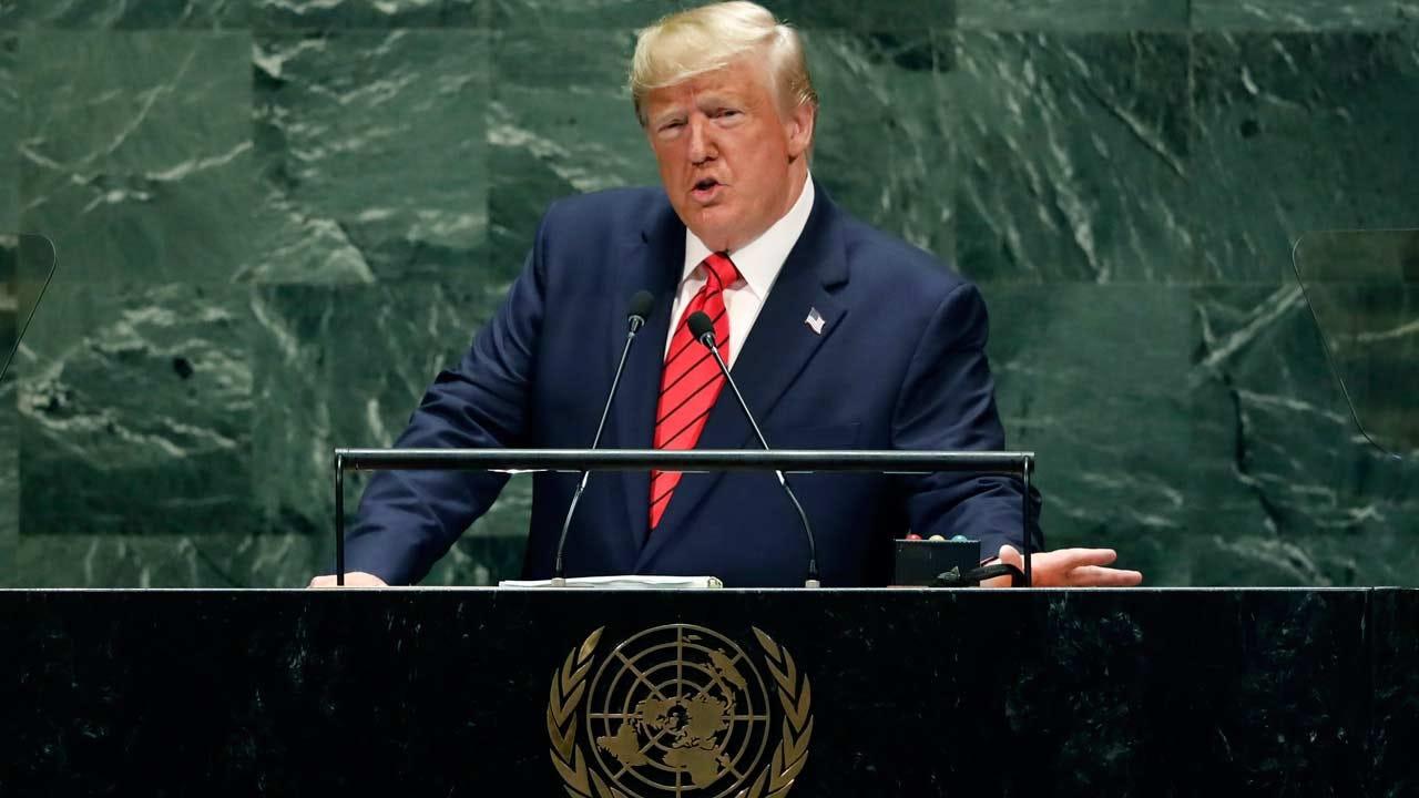 President Trump Promotes National Sovereignty During UN Speech
