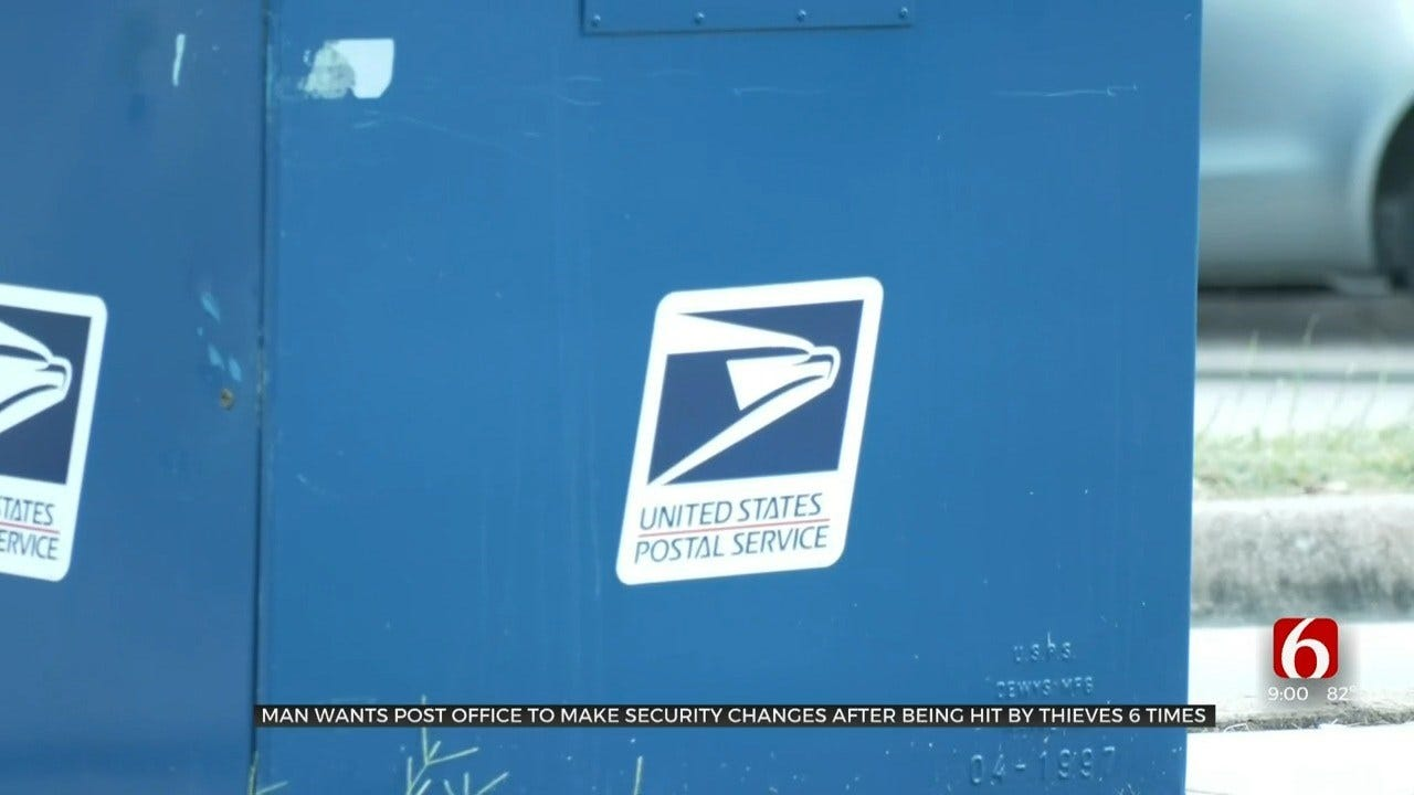 Thieves Break Into Tulsa Company's Post Office Box For 6th Time