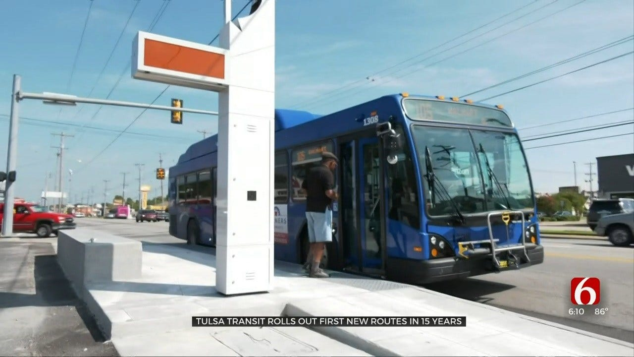 Tulsa Transit Changes Routes First Update In 15 Years