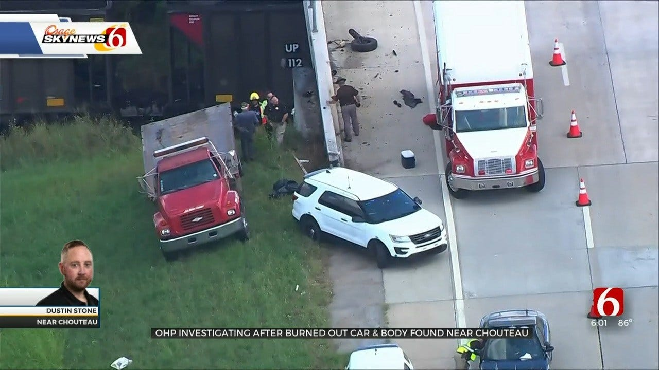 Crews Responding To Fatal Crash Near Chouteau Train Tracks