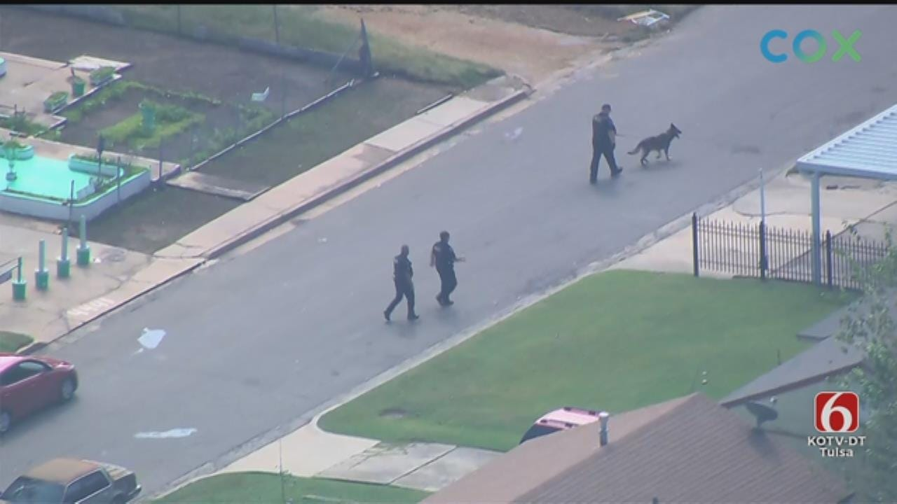 WATCH: Osage SkyNews 6 HD Video Of Tulsa Police Search For Armed Robbery Suspects