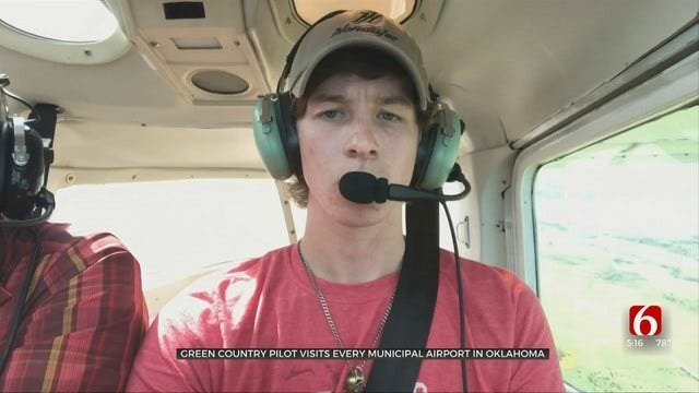 Teenage Oklahoma Pilot Lands At Every Airport In State