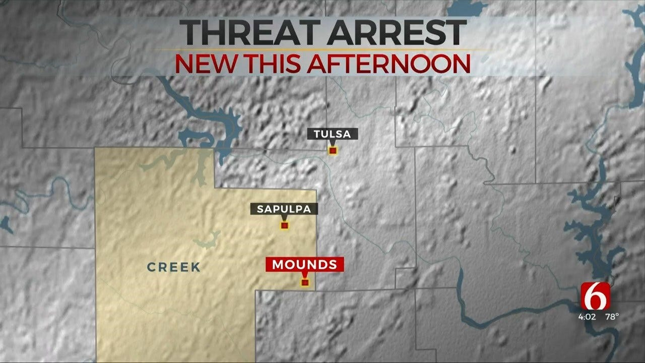 Student In Custody After Threat At Mounds Schools