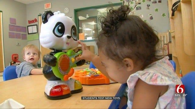 Owasso Kids Get To Test Drive Toys At Goddard School