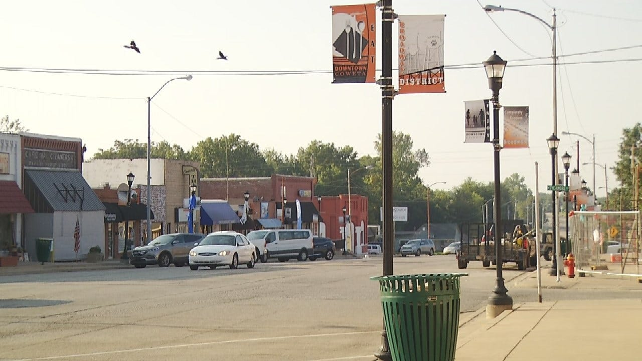 Road Project Underway In Downtown Coweta