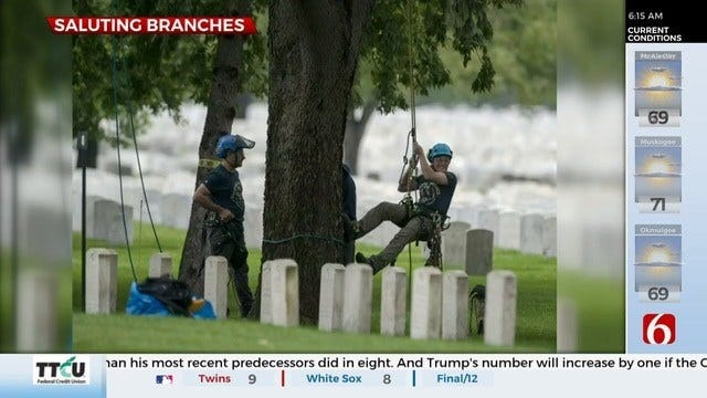 'Day of Service' Honors Those Laid to Rest at Ft. Gibson National Cemetery
