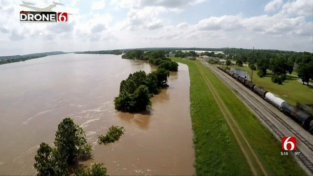 Corps Releases 1st Draft Of Tulsa County Levee Feasibility Study For Public Review